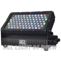 AGL light 84 LED RGBW