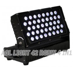 AGL light 42 LED RGBW 4 в 1