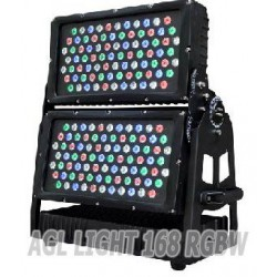 AGL light 168 LED RGBW