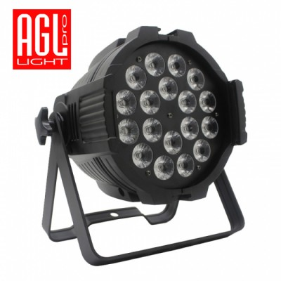 AGL  LIGHT PAR 18-18 RGBAW+UV