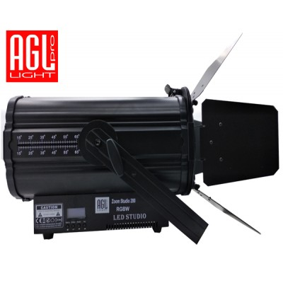 AGL PRO light LED 200 RGBW ZOOM