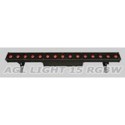 AGL light 15 LED RGBW 4 в 1